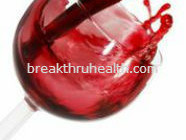 Treat Acne with red wine